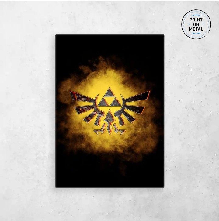 The Legend Of Zelda Metal Poster