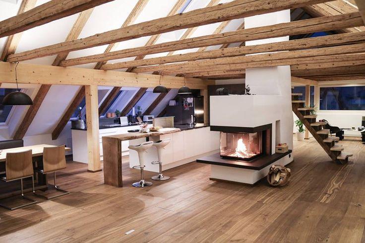 Tischlerei Kotrasch Gesmbh, Dachbodenausbau