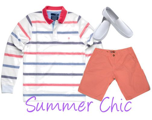 #Summer #Chic #Mens #Look Polo: http://goo.gl/r5KfnV Βερμούδα: http://goo.gl/mrpFG3 Moccasins: http://goo.gl/1j0QIl