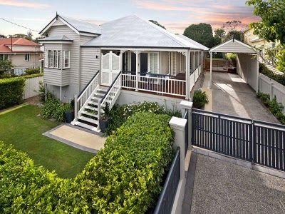 14 best carport central images on pinterest carport for Queenslander exterior colour schemes