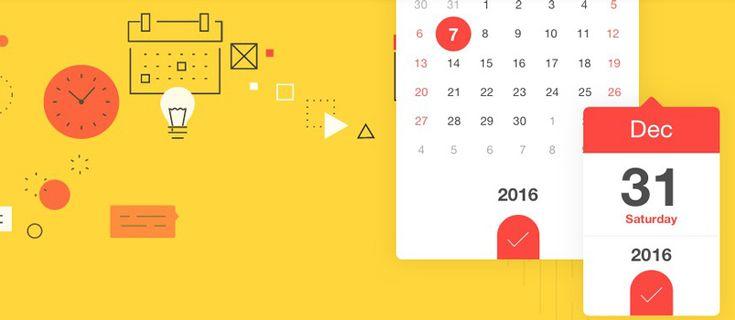 DateDropper – Smallest jQuery UI Datepicker