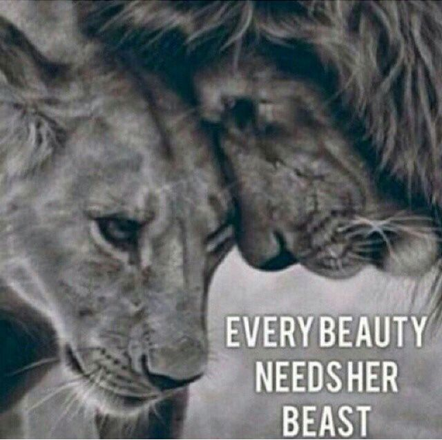 EVERY BEAUTY NEEDS HER BEAST   love.   Pinterest