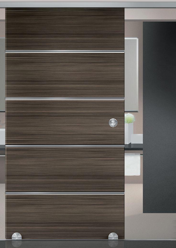 kit complet roulette au sol soho 1 pour panneau bois kit complet pour porte coulissante en. Black Bedroom Furniture Sets. Home Design Ideas
