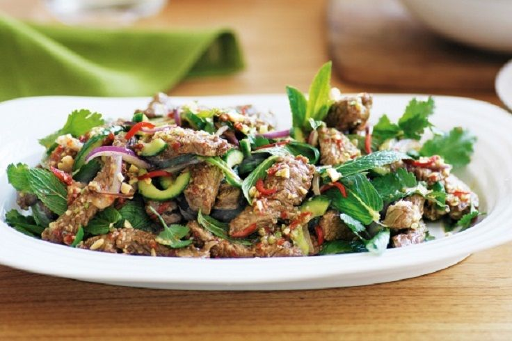 Thai #Beef #Salad 15 #Powerful #Meat #Salads   All #Yummy #Recipes