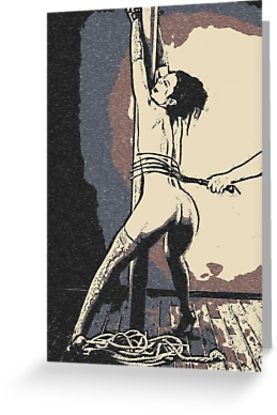 Bad, bad, Naughty Girl – sexy bdsm whipping • Also buy this artwork on stationery, apparel, stickers, and more.