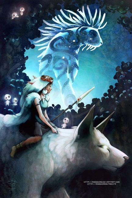 Princess Mononoke - by *missgizmo on deviantART