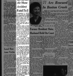 The Anniston Star (Anniston, Alabama), 25 Sep 1961, Monday, page 1. (James P. Pearson, III, injured?)