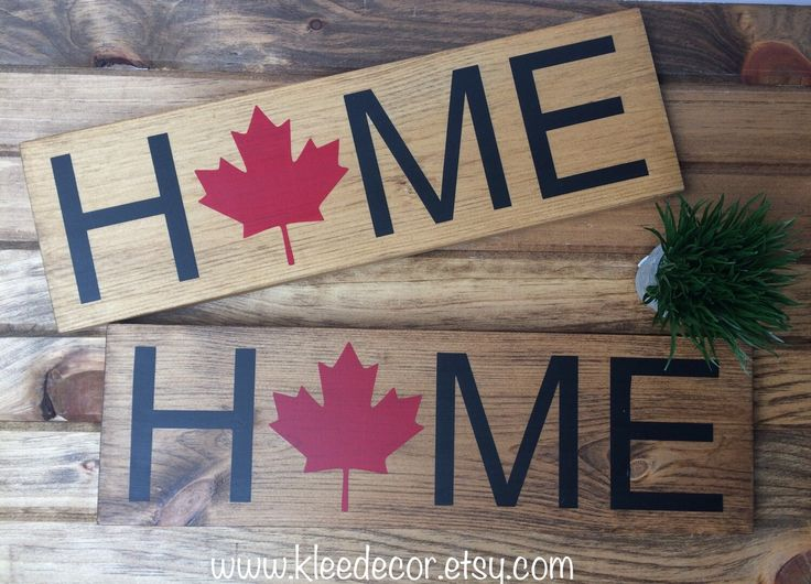 Happy 150th birthday Canada! Both signs available at kleedecor on etsy!