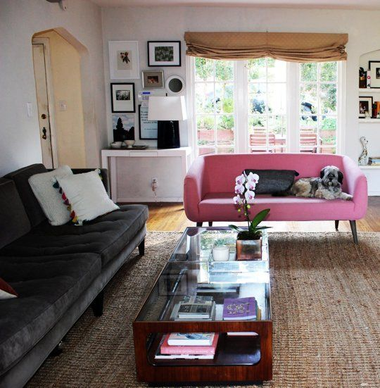 Clarau0027s Not So Hipster Oakland Cottage U2014 House Call. Hipster Living  RoomsLiving ...