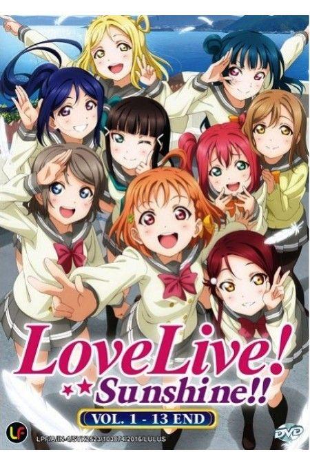 Love Live! School Idol Project: Sunshine Vol.1-13End Anime DVD