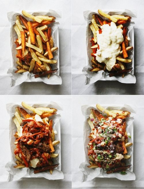 Kimchi Fries | Notions & Notations of a Novice Cook