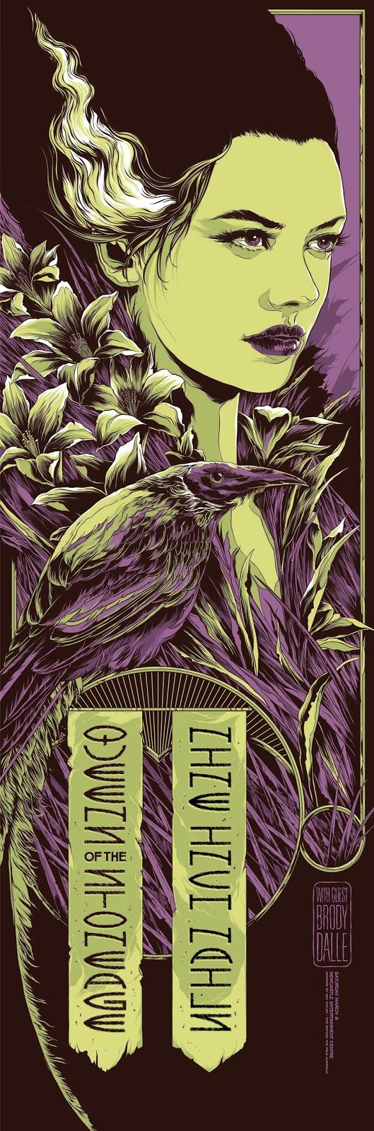 Ken Taylor Queens-of-the-Stone-Age-Nine-Inch-Nails-NEWCASTLE-Poster