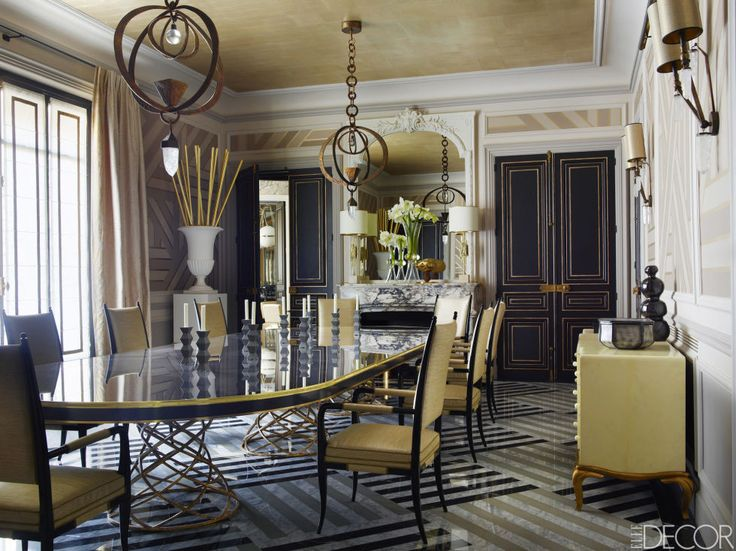 HOUSE TOUR So This Is How Real Princesses Live Beautiful Dining RoomsContemporary