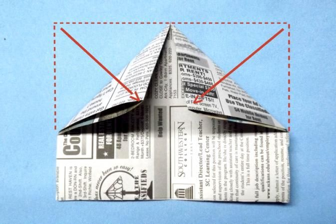 how to make a pirate hat out of newspaper youtube