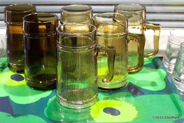 ChiliParkin Taimitarha - Riihimäen Lasi - Ruskea lasituoppi