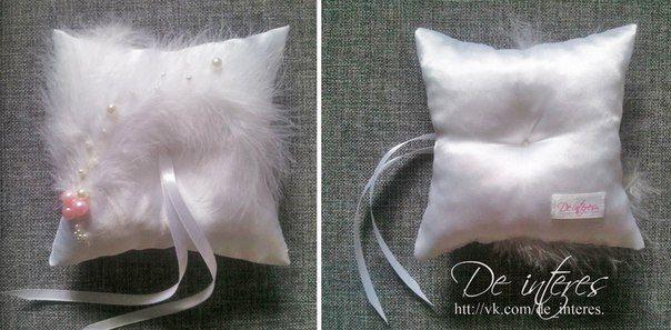 Подушечка для колец от De interes. Wedding Ring Pillow, wedding, marriage, nuptials