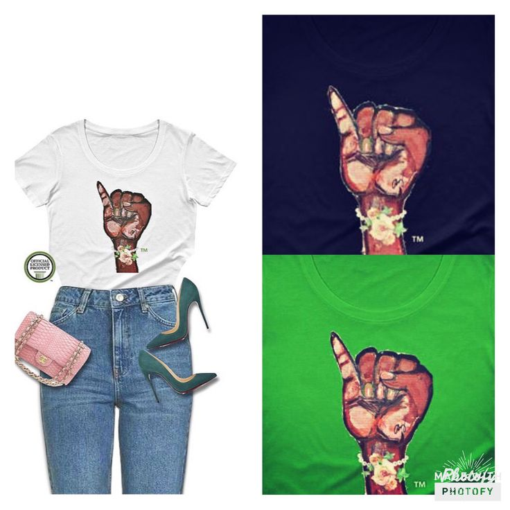 """Authorized Trademarks of Alpha Kappa Alpha Sorority, Incorporated.    The new premium tee Ltd. Edition """"Pinky Up & Tea Roses"""" painting will be the perfect edition to your wardrobe.    This certified premium tee features ALONG'S iconic sorority painting """"Pinky Up"""" that was featured in the IVY BOX in 2017.    This is not your average tee; you will be a work of art as each one is painted by ALONG.      About this shirt:    Fit Style: Fitted, for a looser style we recommend going 1 size up…"""