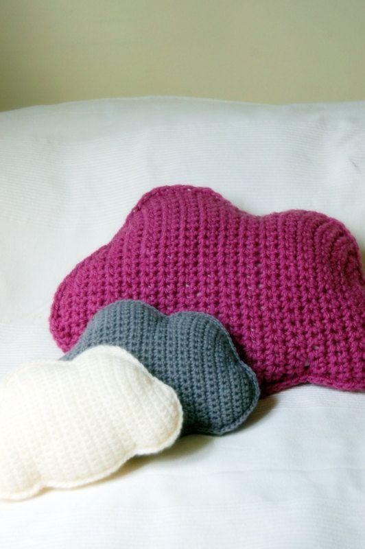 Crochet Cloud Pillows