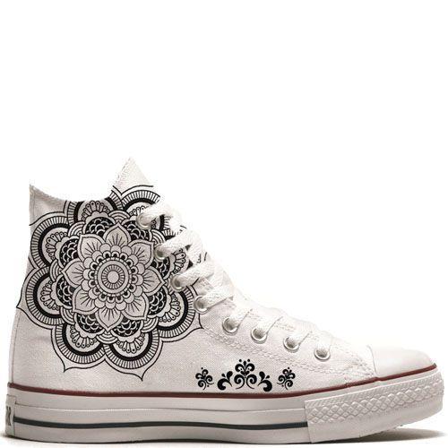 UNiCKZ All Stars Converse Mandala Tattoo