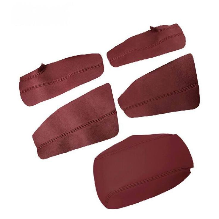 9 PCS Car Styling DIY Leather Waterproof Mildew Special Armrest Cover Case Stickers For TOYOTA Corolla Altis 2014 accessories