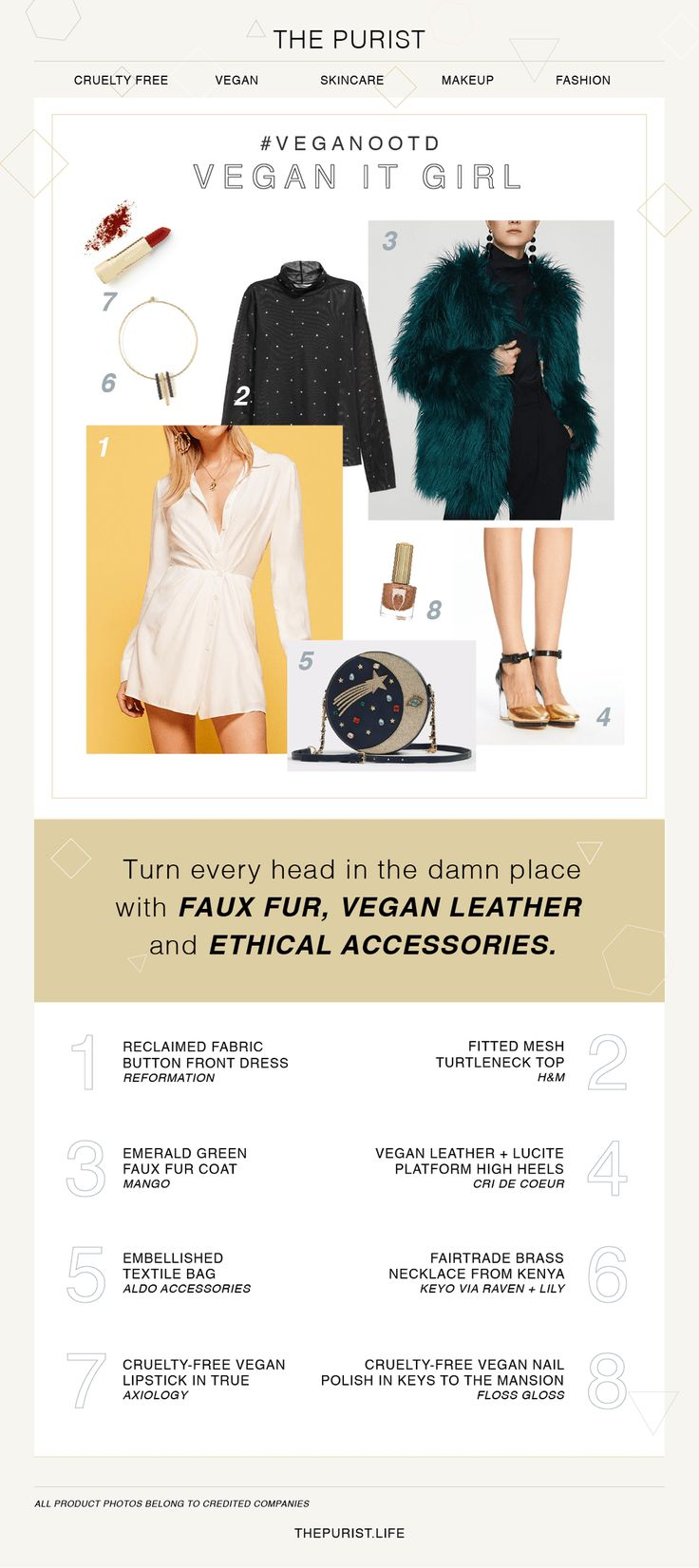 NYE Outfit Idea   Vegan Fashion   Vegan Shoes & Bag   Three Vegan Outfits for Winter that are Stylish AF - The Purist Life