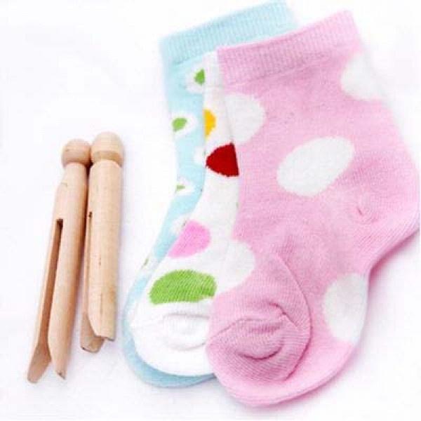 Oobi Girls 3 Pack of Socks