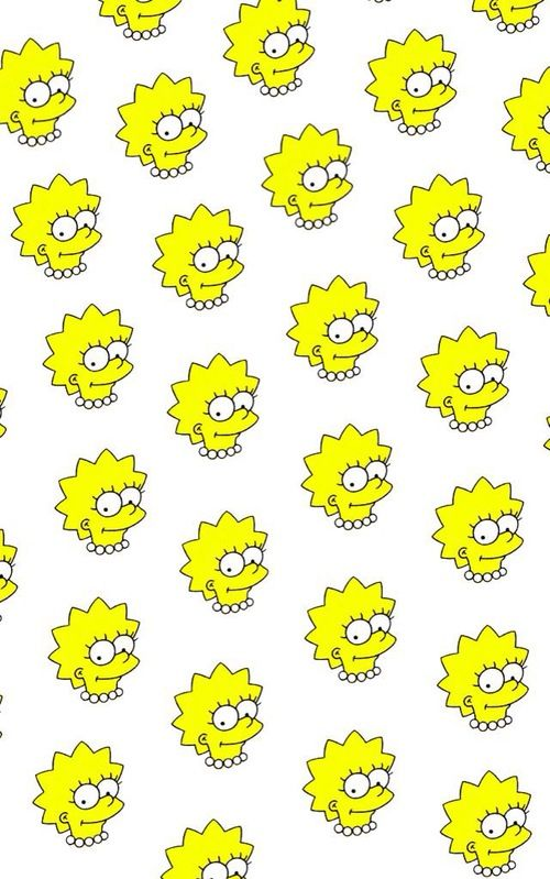 Because anything can become a repeat pattern, even Lisa! #simpsons #pattern