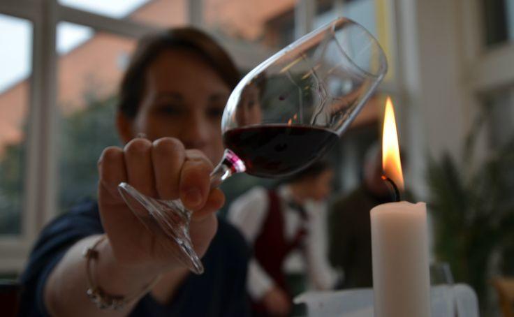 Svíčka bez větru a víno ve správných rukou. Poctivá degustace!