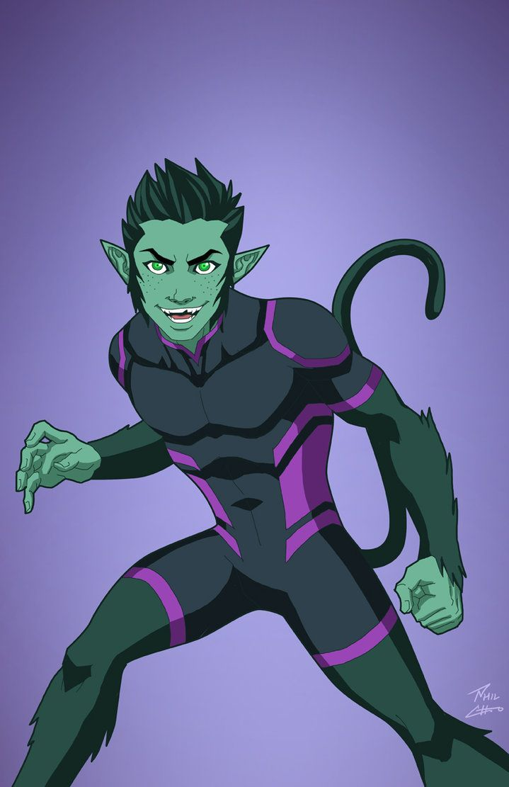 Beast Boy (Earth-27) commission by phil-cho on DeviantArt
