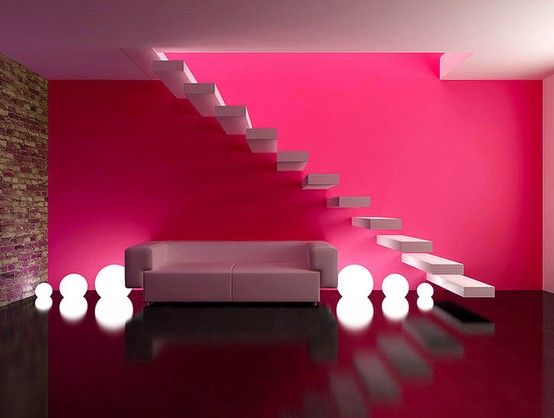 Pink Accent Wall 43 best accent walls images on pinterest | home, bedrooms and