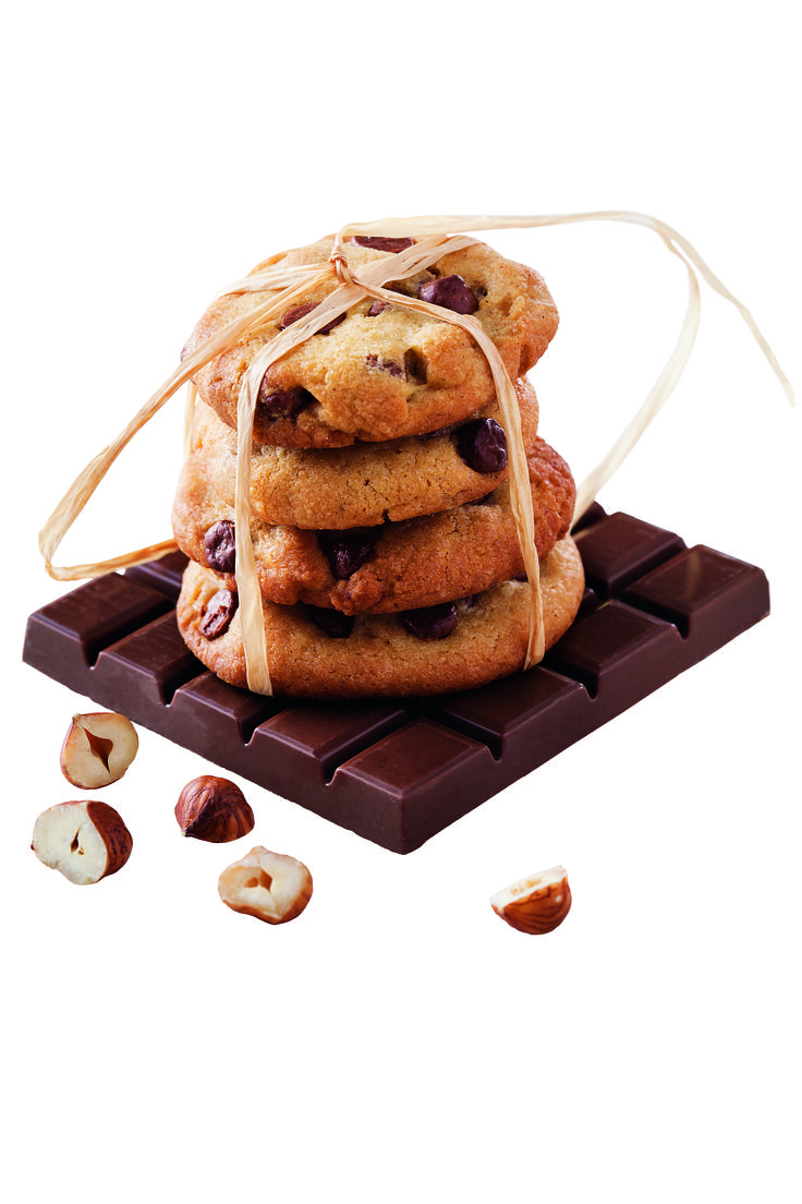 Numéro 60 : Cookies chocolat au lait, vanille et noisettes ©L'atelier des chefs