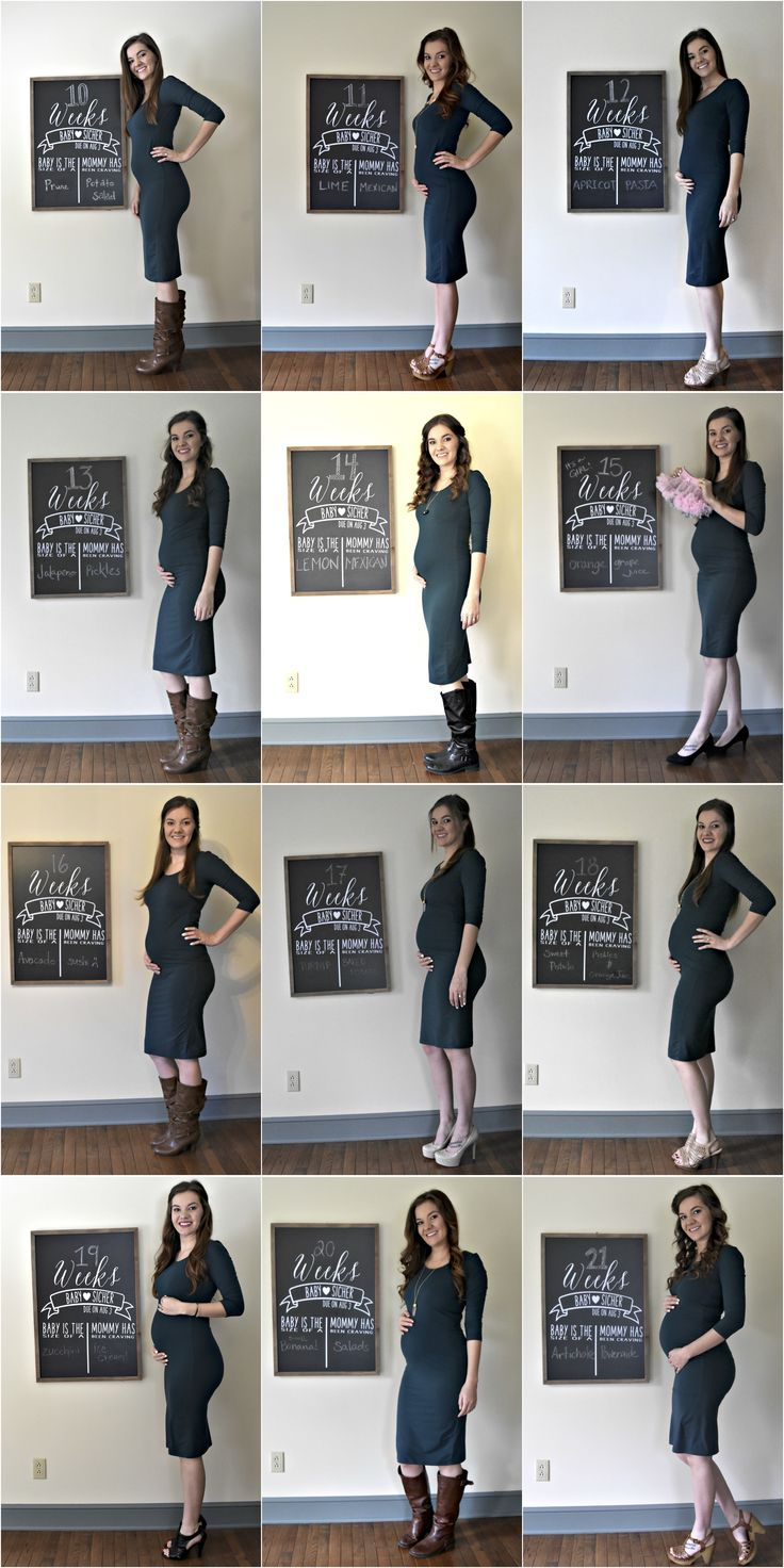 Tracking your pregnancy progress with weekly Baby Bump Maternity Photos  So fun to watch your baby grow and how your body changes as you become a mommy
