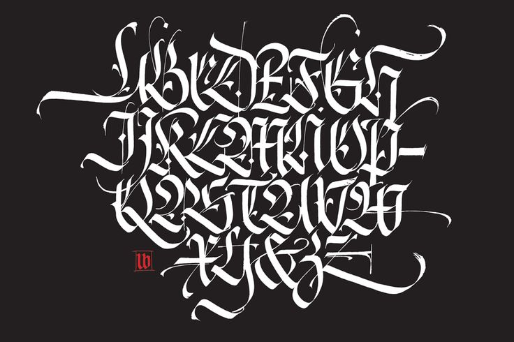 Blackletter 1 Flo By Florinf 241 Other Ideas To