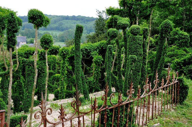 Le prieuré de Vauboin, là où un jardinier fait s'émouvoir les buis
