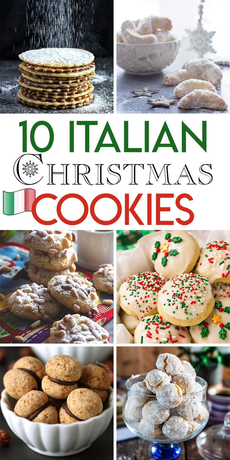 10 Italian Christmas cookie recipes