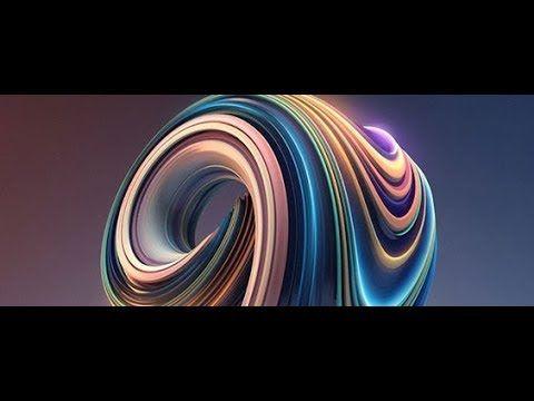 Cinema 4D TUTORIAL! - Abstract Render Glowing Sphere