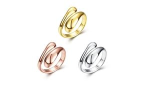 Groupon - 18K Gold/Rose Gold/Platinum Plated Women's Adjustable Open Rings. Groupon deal price: $7.69