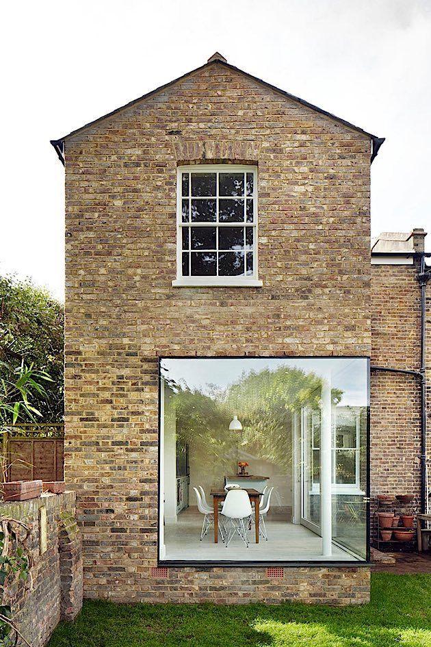 Architektur: Neuer Anbau im alten viktorianischen Stil