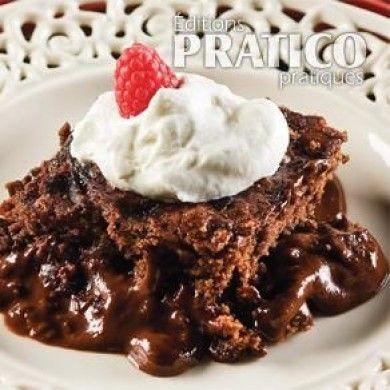 Gâteau-pouding au chocolat fondant - Recettes - Cuisine et nutrition - Pratico Pratique
