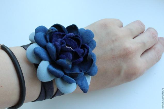 Кожаное украшение 4 в 1 для летнего образа - Ярмарка Мастеров - ручная работа, handmade