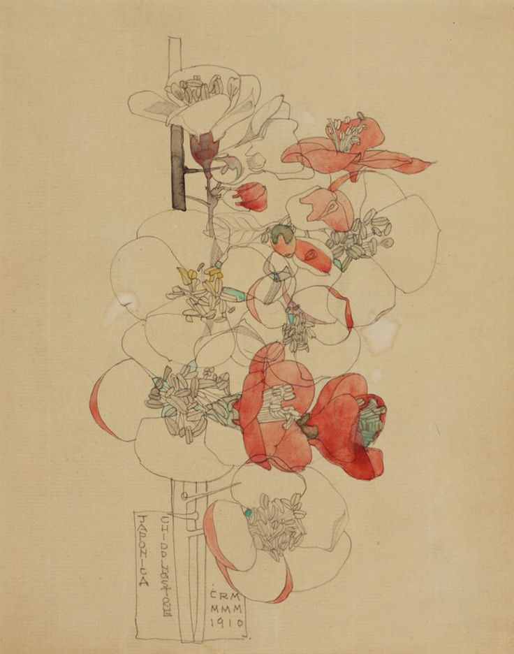 Charles Rennie Mackintosh - watercolour