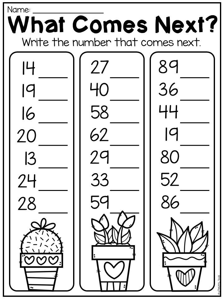 First Grade Numbers And Place Value Worksheets Distance Learning