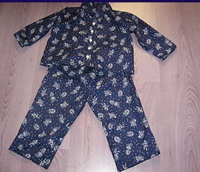 Pyjama d'été enfant, Patron couture gratuit