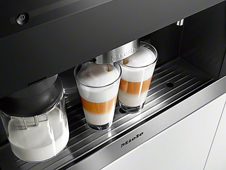 Your only one touch away to creating a Miele fresh bean coffee when staying at the Orchard House!