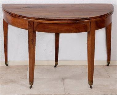 Franse halve maan tafel 1800