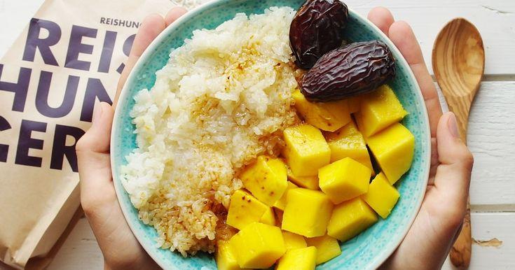 Mango Sticky Rice ✓ exotisch lecker ☆ Jetzt nachkochen!