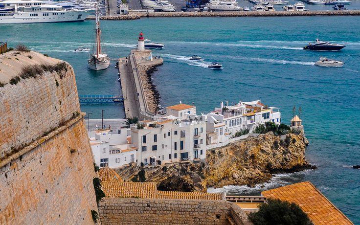 #Ausblick von der #Burg in #Ibiza #Stadt © Carina Dieringer/modelirium.at