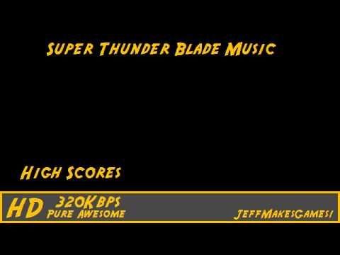 Super Thunder Blade Music - High Scores