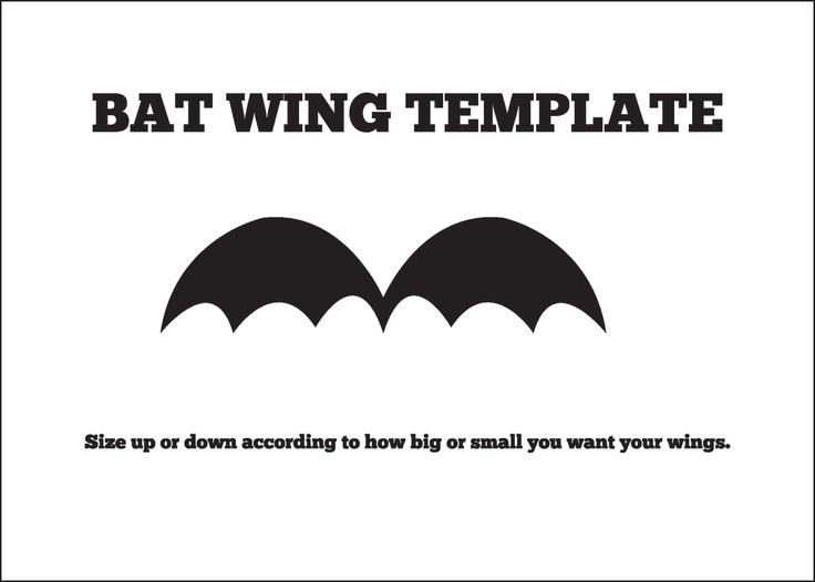 36 best Bat images on Pinterest DIY, Books and Crafts - bat template