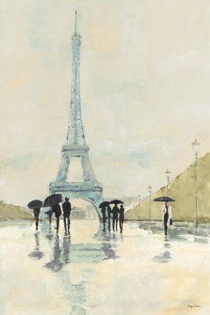 April in Paris  Art Print  by Avery Tillmon